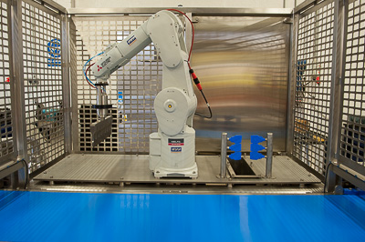 Increased Throughput with Robotic Cutter